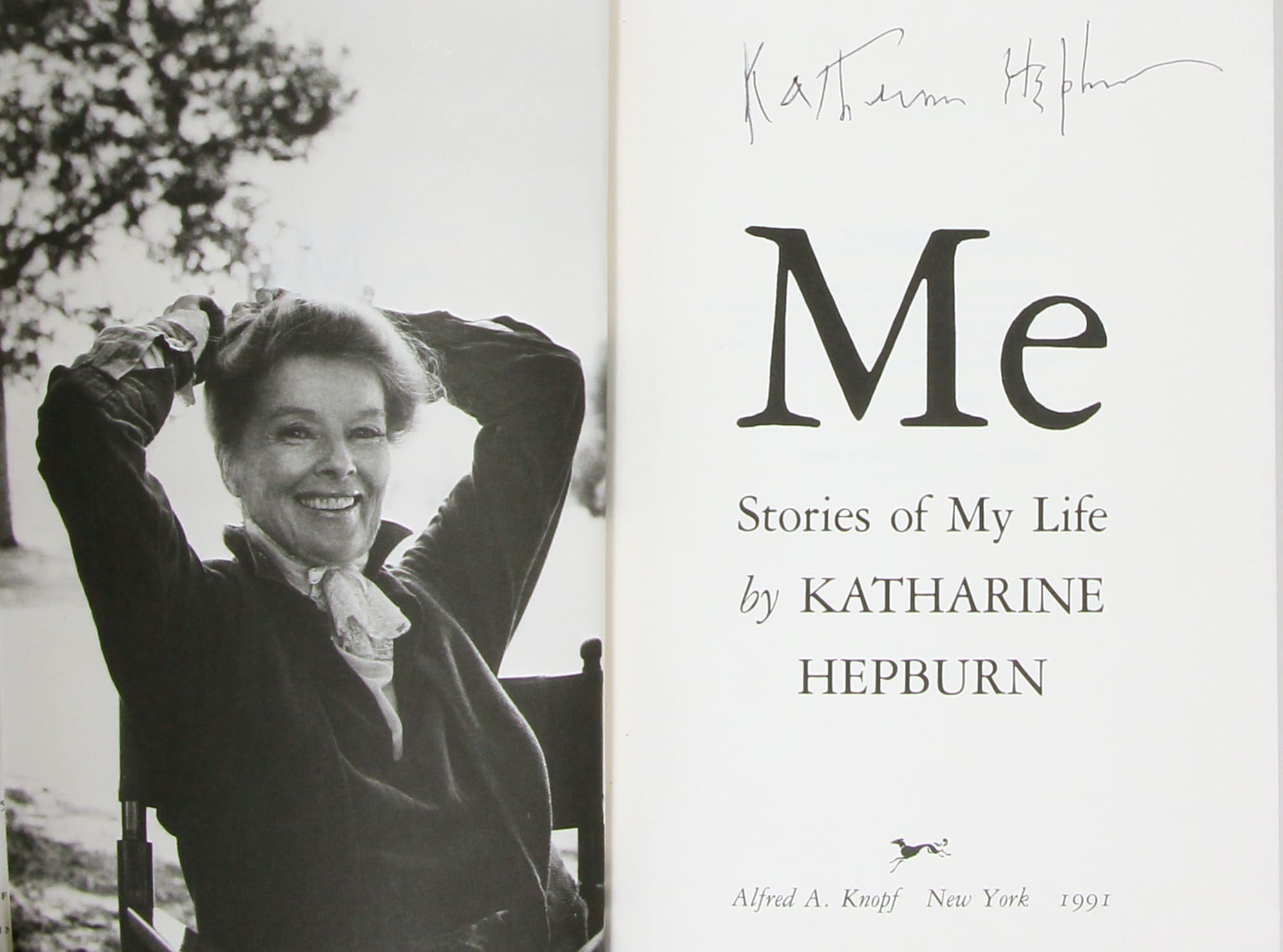 the life and career of katharine hepburn At the finale of spencer's illustrious career katharine hepburn did not attend spencer tracy's katharine hepburn always denied that her first words.