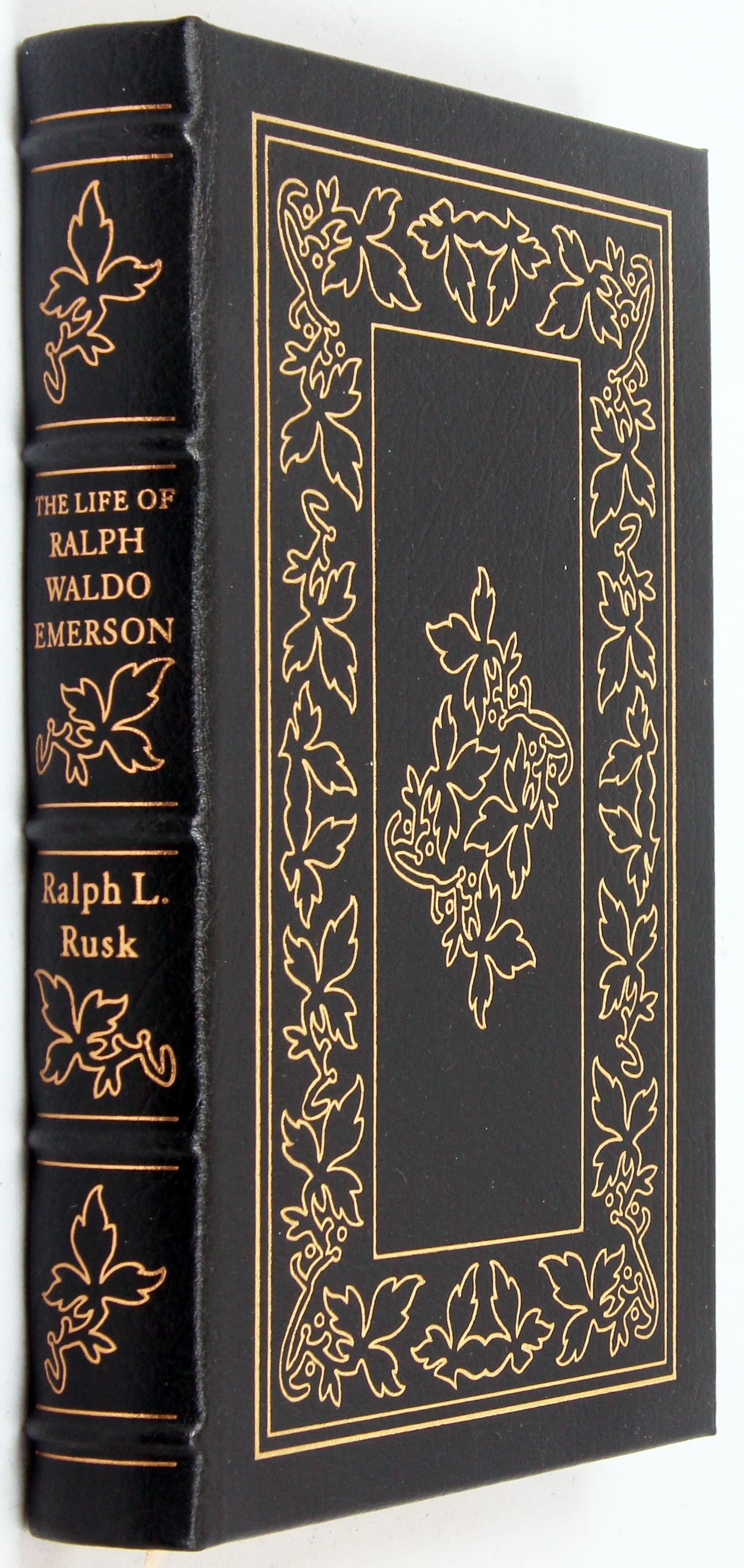 the essays of ralph waldo emerson easton press The essays of ralph waldo emerson the first and second series in one volume easton press the 100 greatest books ever written robert louis stevenson.
