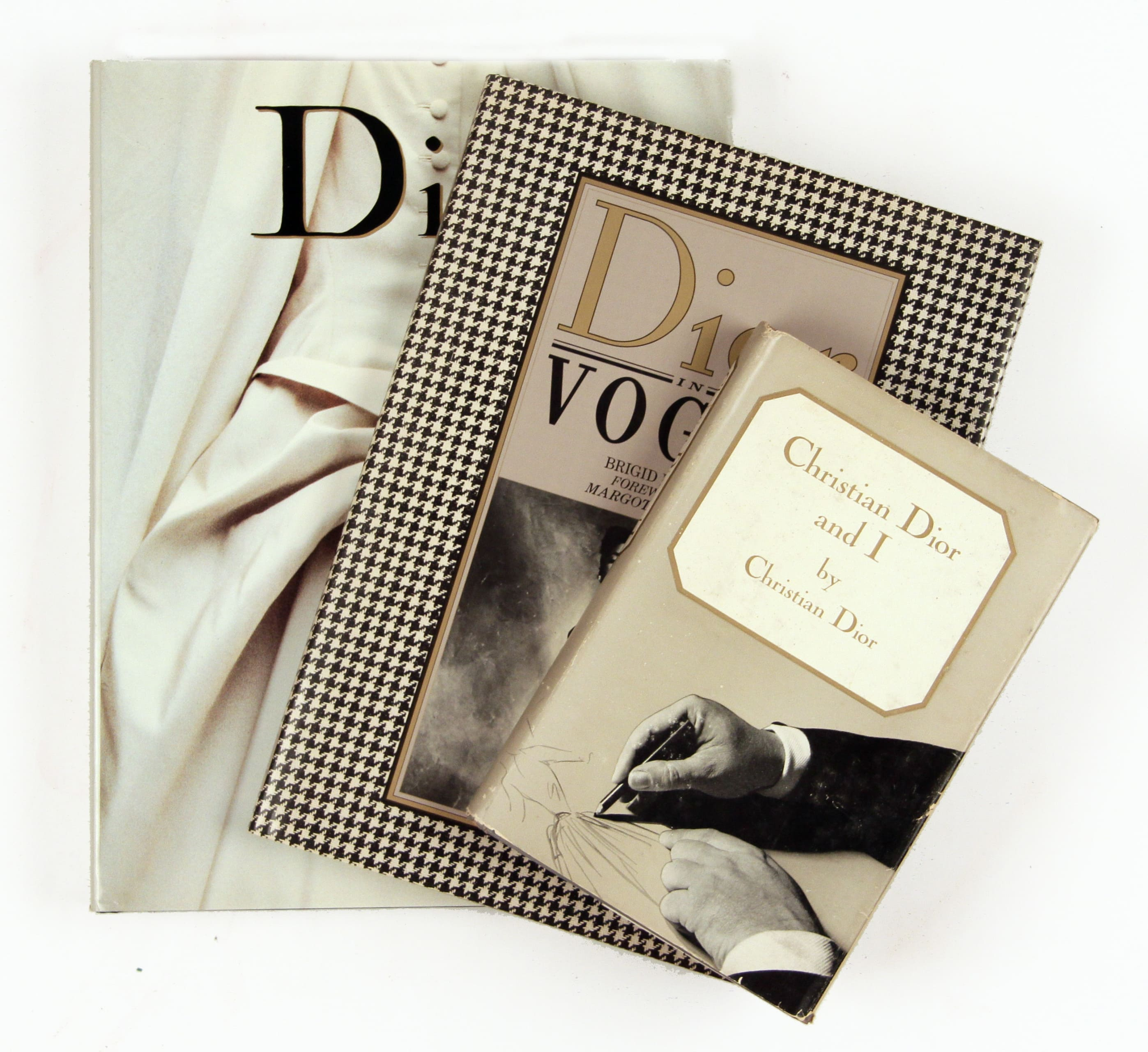 christian dior set of 3 sold